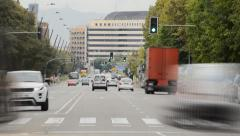City Trafic Alive Stock Footage