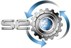 seo metal gear - stock illustration