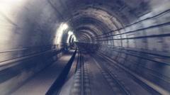 0602 UHD Subway in Copenhagen - stock footage