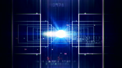Abstract technology digital background 19 - stock footage