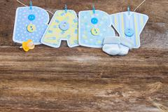 baby shower - stock photo