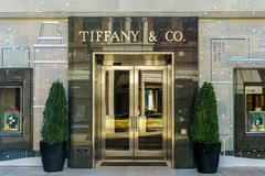 tiffany & company retail store exterior - stock photo