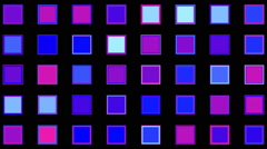 Colorful squares Stock Footage
