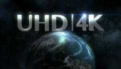 4K UltraHD Title Plate Background Stock Footage