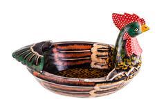 Chicken basket Stock Photos