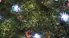 Christmas Tree lights Stock Footage