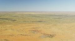 Australia outback desert Aerial footage Stock Footage