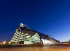 New building of national library of latvia Stock Photos
