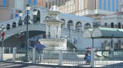 4K Las Vegas Strip Daytime City Life Stock Footage