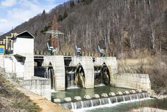 Hydro electric dam Stock Photos