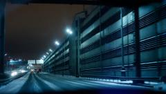 Car Cityscape 15FPS Stock Footage