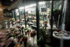 Florist's stands Stock Photos