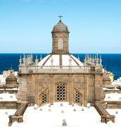 Santa ana cathedral Stock Photos