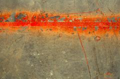 Rusted metallic surface Stock Illustration