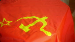 Gun soviet communism socialism Stock Footage