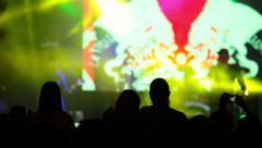 Pop concert Stock Footage