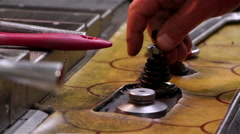 Heavy industry - Mechanical treatment Stock Footage