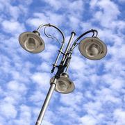Detail of lamppost Stock Photos