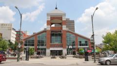 Market Garden in Guelph, Ontario. Stock Footage