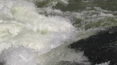 View of the White Nile River rapids Stock Footage