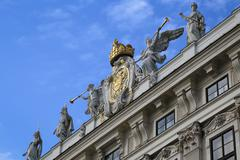 Hofburg imperial palace in vienna Stock Photos