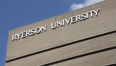 Ryerson University Buildings Stock Footage
