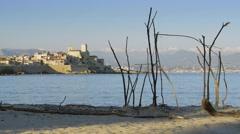 Antibes, France: Establishing Shot - stock footage