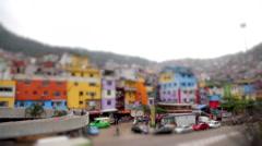 Favela da Rocinha, a Brazilian Slum - stock footage