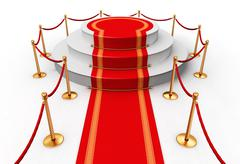 Red carpet Stock Illustration