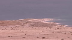 Dead sea view Stock Footage