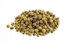 Green peppercorns Stock Photos