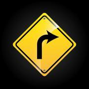 traffic signal design, vector illustration eps10 graphic - stock illustration