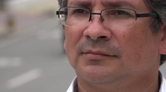 Stock Video Footage of Hispanic Man, Latino Male, Adult