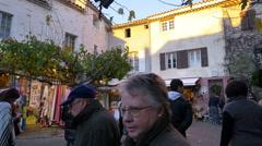 Village of Le Castellet, France - HD 4K+ Stock Footage