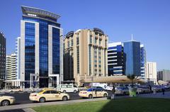 Stock Photo of Urban landscape. Modern Dubai.