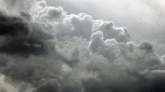 Skies water steam Stock Footage