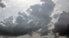 Stratocumulus clouds - stock footage
