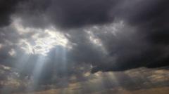 Heaveny light Stock Footage