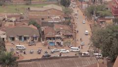 Traffic In Kampala Stock Footage