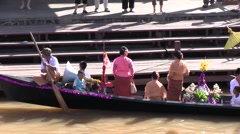 Inle Lake, Myanmar.  Shinbyu rite (novitiate), Phaung Daw U Paya Stock Footage