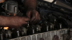 Car Repair Stock Footage