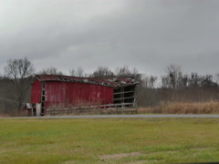 Barn Timelapse Stock Footage