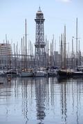 Stock Photo of yachts marina