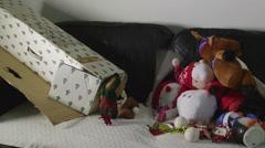 Christmas Tree Box &Toys#6 Stock Footage