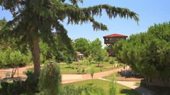 Nature Park in the Lake District in Burdur, Turkey Stock Footage