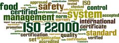 Stock Illustration of iso 22000 word cloud