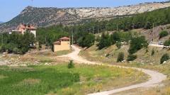 Anatolia, Burdur Country in Turkey Stock Footage