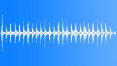 running on gravel 001 - sound effect