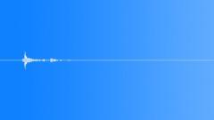 poker chip single falls on pokertable 001 - sound effect