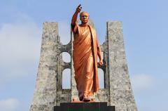 kwame nkrumah memorial park monument - stock photo